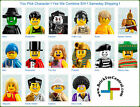 LEGO® 8684 Minifigure Series 2 YOU PICK character SAME DAY ship
