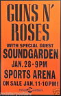0465 Vintage Music Poster Art  Guns And Roses  *FREE POSTERS