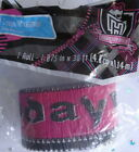 monser high party banner crepe streamer girls themed decorations pink black girl