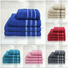 100% Egyptian Cotton Face Hand Bath Sheet Towels All Colours 600 GSM Super Soft