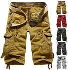 Fashion Men's Men Relaxed Fit Army Cargo Baggy Shorts Summer Cool Pants Shorts