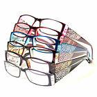 New Women Readers Reading Glasses Black Red Fashion Designer Various Strengths x