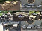 Rattan Cube Sets Garden Dining Patio Table Furniture Aluminium Set,sofa,sunbeds
