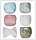 3 pcs* Adult baby Incontinence PVC Velcro diaper/nappy New #PDM01