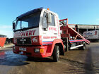 1996 Man 10-153 Recovery Truck. Hydraulic Top Deck, Winch, Speclift