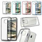For Samsung Galaxy S7/S7 edge Premium Hybrid Bumper TPU+PC Clear Hard Back Case