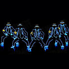 LED Neon EL Wire Tube Costumes Luminous Clothes Dancing Party Stage Performance