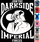 Star wars Darth Vader Darkside Imperial Singlet Ladies Men's Size funny Women's $22.49 AUD