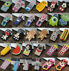 3D Cartoon Soft Silicone Phone Back Case Cover Skin For Apple iPhone Phones