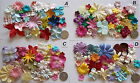 SCRAPBOOKING NO 046 - 18 MIXED PRIMA PAPER FLOWERS - 8 DIFFERENT PACKS AVAILABLE