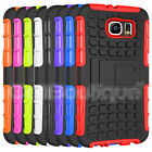 ShockProof Heavy Duty Tough Hard Stand Case Cover For Samsung Galaxy S6 S5 Edge