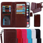 For iPhone SE Luxury Magnetic  Card slot PU Leather Flip Wallet Phone Case Cover
