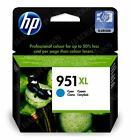 HP951XL Cyan Original High Capacity Printer Ink Cartridge 951XL