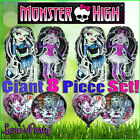 8 MONSTER HIGH Frankie stein & Ghouls Balloon Draculaura Foil Party latex