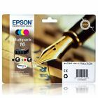 T1626 Epson 16 Original Multipack Ink Cartridges Pen and Crossword C13T16264010
