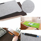Wool Felt Computer Laptop Desk Table Mat Mouse Pad Pen Holder for Macook iPhone