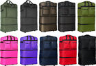 """Pack of 4, 30/36/40"""" Expandable Rolling Wheeled Duffel Spinner Suitcase Luggage"""