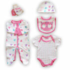 5 Piece Baby GIRL Gift set in mesh presentation Bag-Kitty-by Lily & Jack