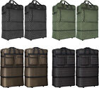 """Pack of 2,30""""/36""""/40"""" Expandable Wheeled Rolling Duffel Spinner Suitcase Luggage"""
