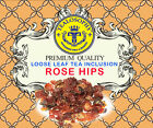 ROSE HIPS  inclusion To any loose Leaf Fresh Tea 2oz + Free Samples