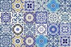 bathroom TILE Stickers Set of 24 DECALS Mexican ceramic Kitchens decor SB11