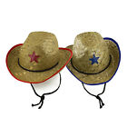 star sheriffs - Kid's Sheriffs Straw Star Cowboy Western Rodeo Costume Accessory Party Favor LOT