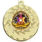 50mm Heavyweight Dance Medals with Free Engraving up to 30 Letters + Ribbon