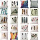 Feathers Sofa Cushion Cover Decorative Pillow Cover Throw Pillow Case Home Decor