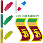 Cricket Bat Toe Guard Rubber Grip & Stickers Set Replacement Grip Toe Protection