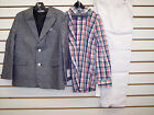 Внешний вид - Toddler & Boys $89.50 Nautica 4-Pc. Heather Navy & White Suit Size 4T/4 - 7