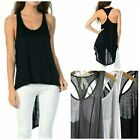 D2D Women's Sleeveless Sheer Vest Sexy Tank Top