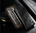 Luxury Leather Wallet Case Magnetic Flip Stand Cover For Samsung Galaxy Note 5