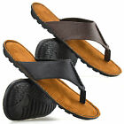 Mens Gladiator Sandals Summer Beach Cushioned Walking Flip Flop Mules Shoes Size