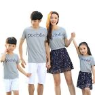 New Summer Family look girl mother dress girls Dresses father Boys sets Outfits