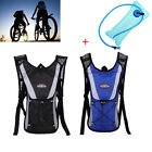 Cycling Backpack Water Bag Hiking Pouch Climbing Hydration Pack With Bladder 2L