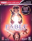 FABLE THE LOST CHAPTERS PRIMA OFFICIAL STRATEGY GAME GUIDE PC & XBOX