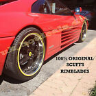 Scuffs By Rimblades Car Tuning Alloy Wheel Rim Protectors 4 Tire Guard Rubbers
