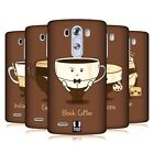 HEAD CASE DESIGNS COFFEE PERSONALITIES HARD BACK CASE FOR LG PHONES 1