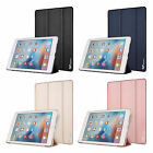 iPad Pro 9.7 Case PU Luxury Protector Auto Sleep Cover Clear Back With Stand