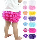 Toddler Baby Infant Girls Lace Ruffle Dress Bloomers Nappy Panties Diaper Cover