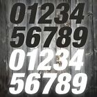 "Motocross Enduro 6.5"" heavy duty numbers 3pack black or white"
