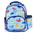 Colourful Whales Childrens Kids Toddlers Preschool Nursery Backpack Bag tbag15