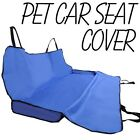 Black Cradle Dog Car Back Seat Cover Pet Mat Blanket Hammock Cushion Protector