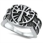 Armor Of God Ring, Stainless Steel, Christian Protection w FREE Gift Box, Shield