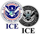 Homeland Security ICE Reflective Decal Sticker DHS CERT FEMA Police Sheriff SRT