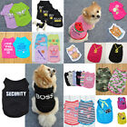 Внешний вид - Various Pet Puppy Small Dog Cat Pet Summer Clothes Vest T Shirt Dress Apparel
