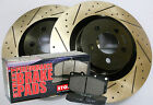 Magnum Charger Chellenger 300C SRT-8 Drilled Slotted Rotors Stop Tech Pads Front