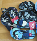 Quiksilver boy flip flops beach 11.5, 1, 2.5, 5 UK NEW 30 33 35 39 EUR