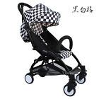 Plaid Pushchair Lightweight Buggy Baby Stroller From Birth Free P