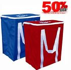 Foldable Cool Bag Picnic Insulated Ice Lunch Food Drink Box BBQ Travel Camping